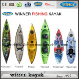 Chinese Factory Supply Kayak de pêche en mer en plastique