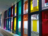 L'abitudine ha glassato la pellicola della finestra del documento di riso della pellicola della finestra di segretezza di gelo del Lite dei blocchi