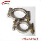 Braçadeira da alta pressão do encaixe de tubulação do aço inoxidável