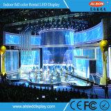 P3.91 InnenVideodarstellung der miete-LED mit Leichtgewichtler