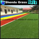 130stitch/M todo o tapete da grama verde para o mercado de Dubai
