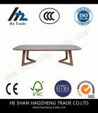 Tavolino da salotto di scortecciamento Hzct100 la nuova struttura di superficie di vetro del metallo