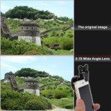 専門家HD 0.7X極度の広角Lens+12XマクロLens+CPLのフィルターSeriseのクリップ式の携帯電話レンズ