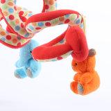 아기 동물성 교육 채워진 견면 벨벳 장난감