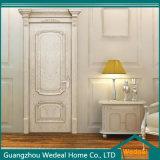 Porta interior composta do MDF do folheado de madeira do carvalho branco