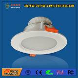 IP20 SMD 2835 12W LED giù si illuminano per la mostra corridoio