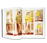 Impression polychrome de fantaisie de revue de mode de qualité