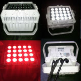 20X12W Super Bright Outdoor RGBW LED plana PAR
