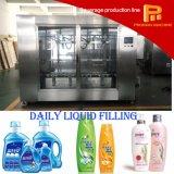 Máquina de rellenar embotelladoa del champú de la botella cosmética automática del líquido viscoso