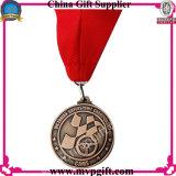 顧客デザインのメダルギフトのための金属のスポーツメダル