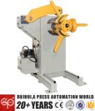 Máquina manual o neumática de Uncoiler del metal usando en la línea y Decoiler (ME-400) de la prensa