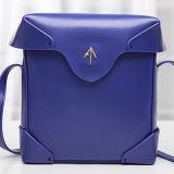 상표 2017 가죽 가방 단단한 패턴 어깨에 매는 가방 고명한 숙녀 핸드백 Emg4720
