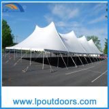 Alta tenda d'acciaio esterna del Palo del partito della tenda foranea di cerimonia nuziale del blocco per grafici di punta