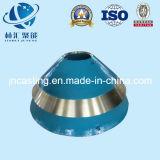 Envoltório elevado do triturador do cone do aço de manganês