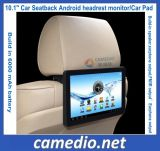 """10.1 """" androides Auto-Auflage-Sitzrückseiten-Kopflehnen-allgemeinhinüberwachungsgerät, das WiFi/HDMI Ausgabe unterstützt"""