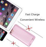 iPhoneの優秀な接触感じの1つの背部クリップ力バンクに付き超細く薄い電槽2つのための3000mAh