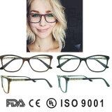 Het goedkoopste Frame Eyewear van de Acetaat van China van de Glazen van de Acetaat Materiële Optische