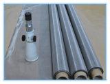 Plaza de acero inoxidable de alta calidad del agujero del acoplamiento de alambre / malla de alambre soldado