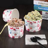 중국 제조자는 아이스크림 종이컵을 주문 설계한다
