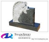 Engel en de Hart Gesneden HerdenkingsGrafsteen van het Graniet
