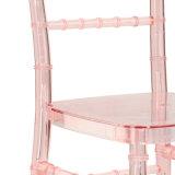 결혼식과 사건을%s Chiavari 밝은 분홍색 아크릴 의자