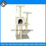 Fabrik-Großhandelshaustier-Produkt-preiswerte Katze-Baum-Eigentumswohnung