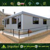 Pequeña casa de la casa viva prefabricada moderna