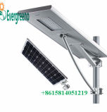 LiFePO4 Bateria Integrada Solar Smart LED Street Light All in One Crepúsculo para Dawn