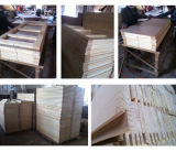 Porta da madeira contínua de projeto simples para os quartos (SC-W136)