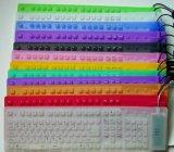 Het kleurrijke Flexibele Toetsenbord van het Silicone (ht-SK03)