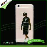 Caixas impressas costume do iPhone do húmido do Slam dos esportes dos jogadores de NBA para o iPhone 6