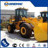 De Chinese Nieuwe Lader Lw600k van het Wiel van de Grootte van 6 Ton XCMG Grote