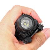 Kompakte taktische Taschenlampe Cl15-0095 Grün-Laser-LED