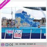De Dia van de pool voor Verkoop, de Opblaasbare Dia van het Water voor de Pool van het Frame