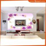 Eleganter Entwurfs-stereoskopische traumhafte rosafarbene Blume für Dekoration-Ölgemälde
