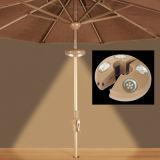 Lumière rechargeable de parapluie de LED