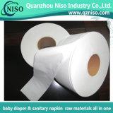 Papier de soie de soie normal de roulis enorme de 100% pour la production de couche-culotte avec GV (HG-034)