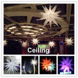 Bekanntmachen von Decoration Inflatable Stars mit CER RoHS Pass LED-Light