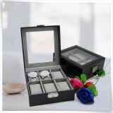 Unità di elaborazione Leather Handmade Luxury Display Watches Box Caso per Man