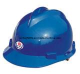 Capacetes de segurança feitos sob encomenda do tampão do reforço (VP-4), especificações dos capacetes de segurança, capacete de segurança da construção, de materiais V do PE ou do ABS tipo capacete de segurança industrial