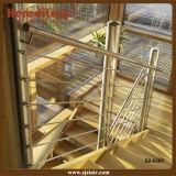 Поручень штанги нержавеющей стали для рельсовой системы лестницы (SJ-S303)