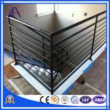 Cerca de segurança do Stairway do edifício da liga de alumínio