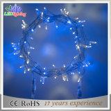RGBのクリスマスの装飾防水PVCワイヤーLEDストリングライト