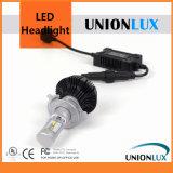 차를 위한 Unionlux 열 싱크 LED 헤드라이트 장비