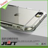 Nuova cassa trasparente del respingente della radura della cassa del silicone degli accessori TPU del Apple