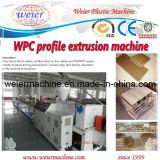 Ligne machine de profil de WPC de profil de Decking de plancher de WPC
