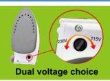 Sy-602dual Voltage Travel Steam Iron Teflon Coated mit Vertical Steaming und Burst Steaming
