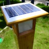 Lumière du paysage solaire à haute luminosité pour Garden Road