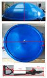 """Sfera mezza dell'addestratore dell'equilibrio di No5-3 22 """" 55cm, sfera di Bosu con le fasce di resistenza & pompa"""