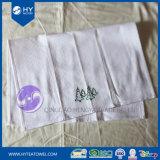 Yarn-Dyedワッフルデザイン刺繍の秒針タオル